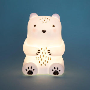 Sass & Belle Bear Camp Night Light - Say It Baby