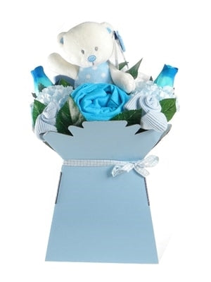 Say It Baby - Baby Boy Clothes Flower Box - Say It Baby