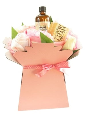 Say It Baby - Baby Girl Bath Time Bouquet - Say It Baby