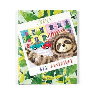 Jellycat Cyrils Big Adventure Book - Say It Baby
