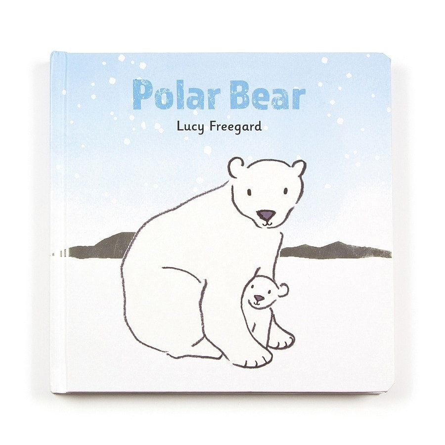 Jellycat Polar Bear Board Book - Say It Baby