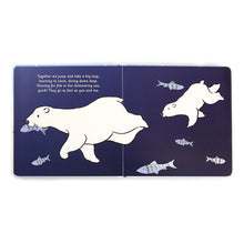 Load image into Gallery viewer, Jellycat Polar Bear Board Book - Say It Baby