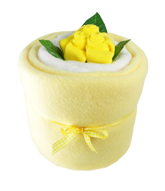 Lemon Baby Blanket Bouquet - Say It Baby
