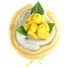 Load image into Gallery viewer, Lemon Baby Blanket Bouquet - Say It Baby