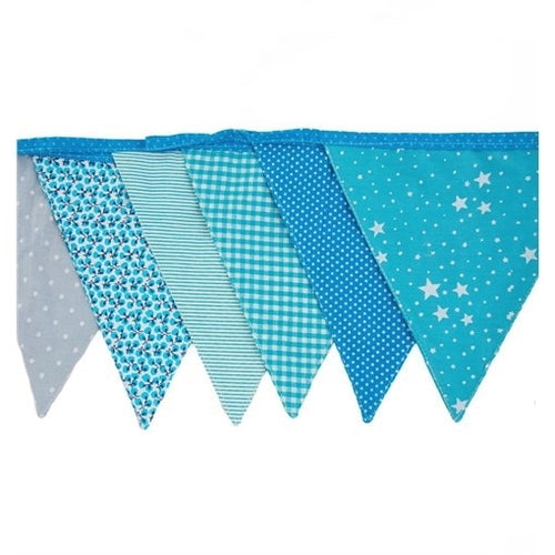 Sass & Belle Baby Boys Bunting - Say It Baby