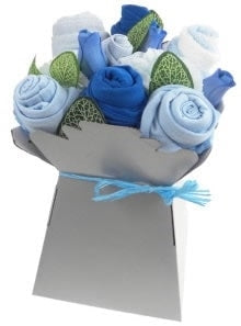 Say It Baby - Baby Boy Clothes Bouquet - Say It Baby