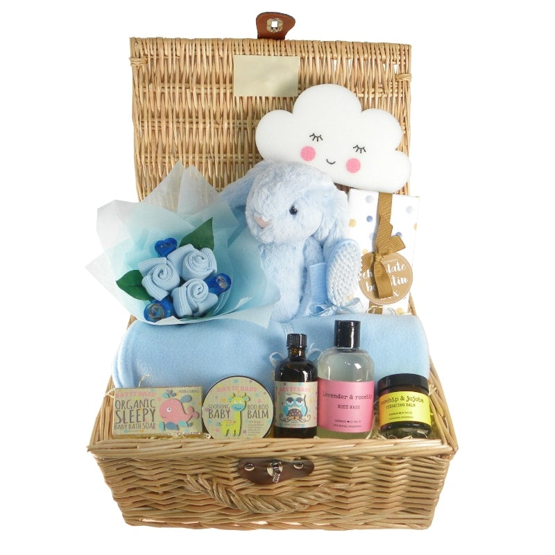 New Arrival Baby Boy Hamper - Say It Baby