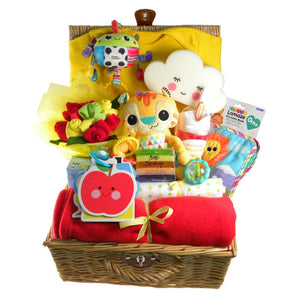 Hello Sweetie Bright Baby Hamper - Say It Baby