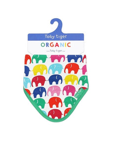 Toby Tiger Organic Elly Dribble Bib - Say It Baby