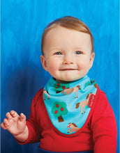 Load image into Gallery viewer, Toby Tiger Organic Horse Dribble Bib - Say It Baby
