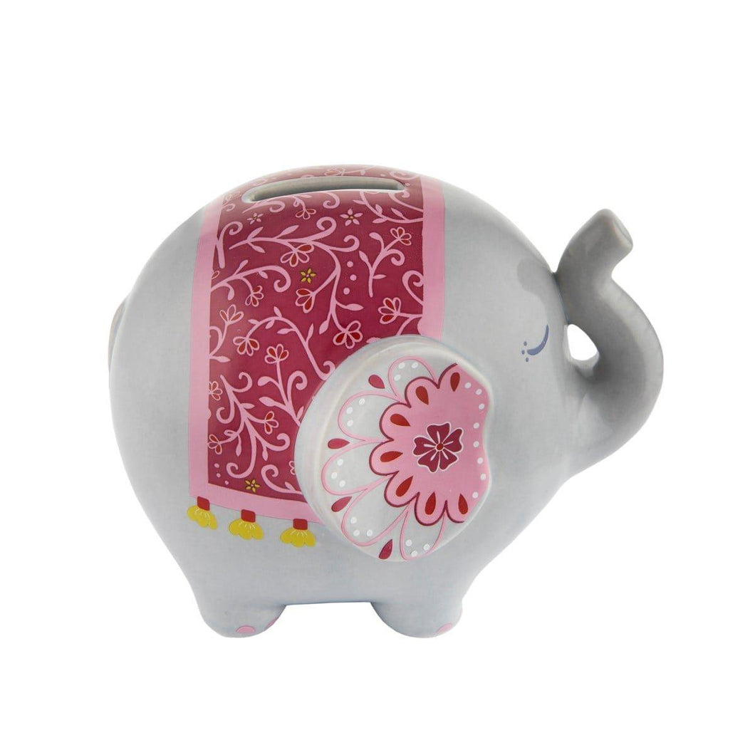 Sass & Belle Mandala Elephant Money Bank - Say It Baby