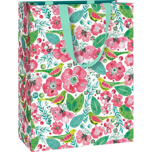 Floral Gift Bag - Say It Baby