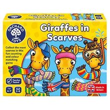 Load image into Gallery viewer, Orchard Toys Giraffes in Scarves Game
