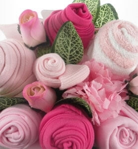 Say It Baby - Baby Girl Clothes Bouquet - Say It Baby