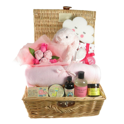 New Arrival Baby Girl Hamper - Say It Baby