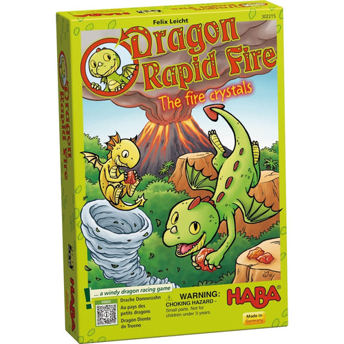 HABA Dragon Rapid Fire – The fire crystals - for age 3 and over