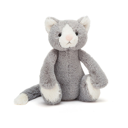 Jellycat Bashful Cat Small - Say It Baby