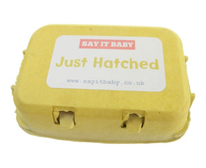 Just Hatched - Baby Socks Gift - Say It Baby