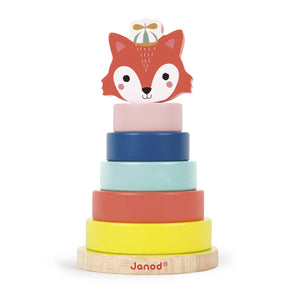 Janod Baby Forest Fox Stacker - Say It Baby