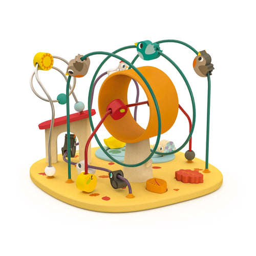 Janod Hen & Co Looping Toy - Say It Baby