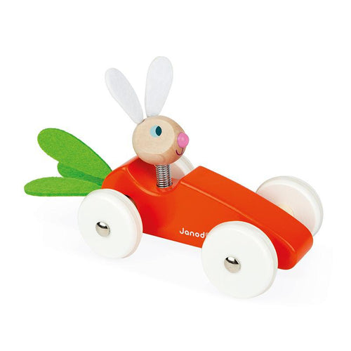 Janod Lapin Carrot Car - Say It Baby