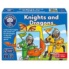 Load image into Gallery viewer, Orchard Toys Knights and Dragons Game