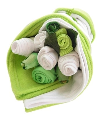 Say It Baby - Traditional Lime Baby Bouquet Bundle - Say It Baby