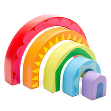 Load image into Gallery viewer, Le Toy Van Rainbow Tunnel Toy - Say It Baby