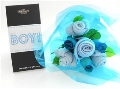 Say It Baby - It's A Boy Baby Bouquet Combo - Say It Baby
