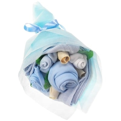 Say It Baby - Mini Baby Boy Clothes Bouquet - Say It Baby