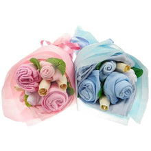 Load image into Gallery viewer, Twin Mini Baby Clothes Bouquet - Say It Baby