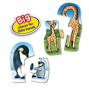 Orchard Toys Mummy & Baby Jigsaw Puzzle - Big pieces for little hands
