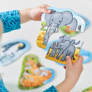 This great Mummy & Baby Jigsaw Puzzle by Orchard Games contains 6 puzzles in one box!