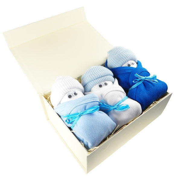 Say It Baby Boys Nappers Gift Box - Say It Baby