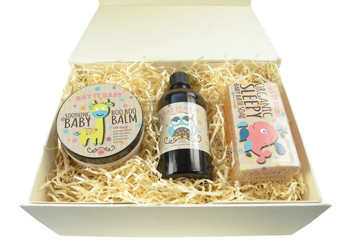 Say It Baby Natural Gift Box - Say It Baby