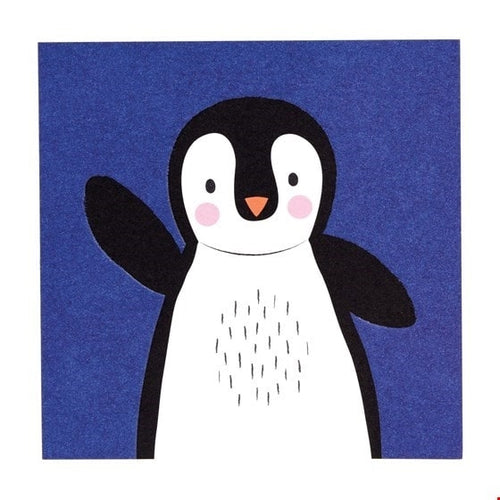 Penguin Card - Say It Baby