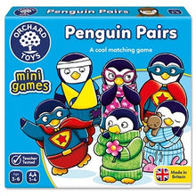 Load image into Gallery viewer, Orchard Toys Penguin Pairs Mini Game