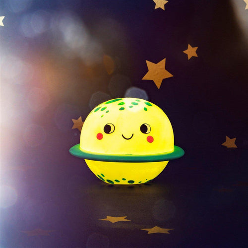 Sass & Belle Planet Night Light - Say It Baby