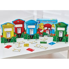 Load image into Gallery viewer, Orchard Toys Post Box Game - a simple posting and matching game with two ways to play!