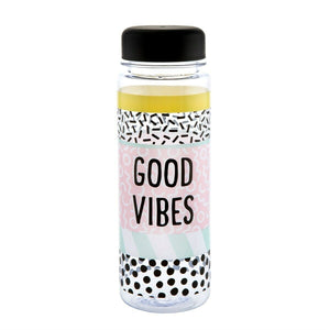 Sass & Belle Good Vibes Water Bottle - Say It Baby