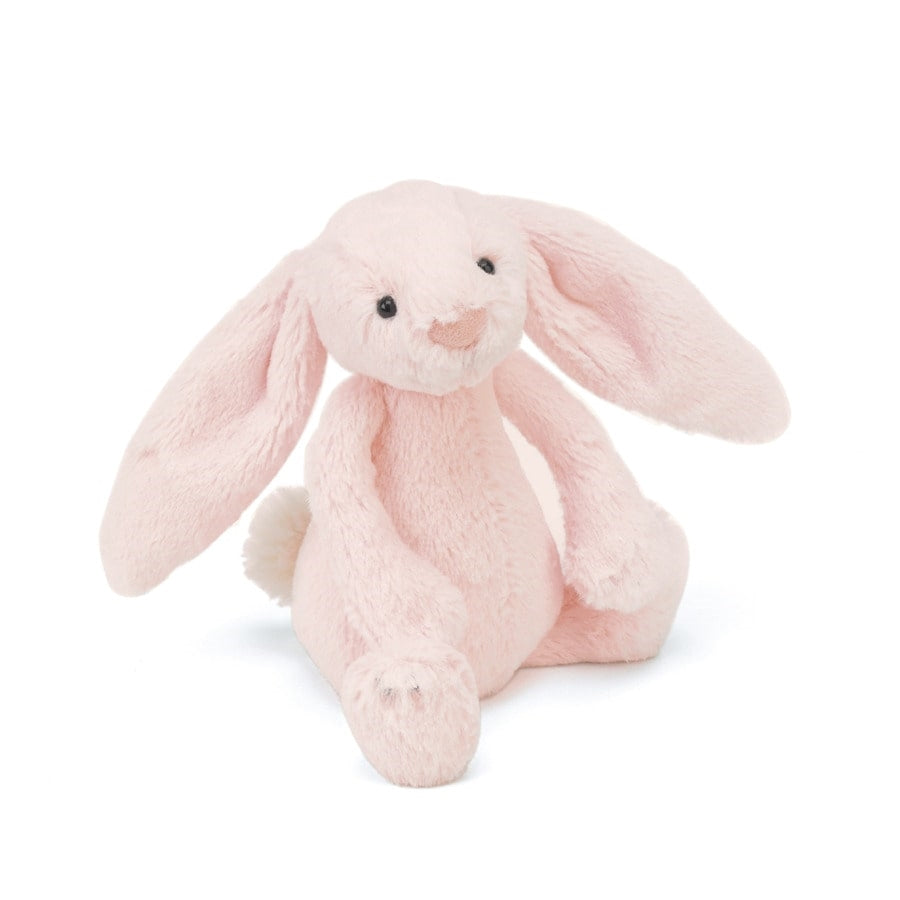 Jellycat Pink Bashful Bunny Rattle - Say It Baby