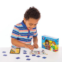 Load image into Gallery viewer, This shopping List lotto game uses quick and simple gameplay which holds children's attention.  Shopping List Game by Orchard Games