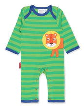 Load image into Gallery viewer, Toby Tiger Organic Lion Sleepsuit - Say It Baby