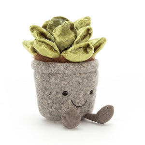 Jellycat Silly Succulent Jade - Say It Baby