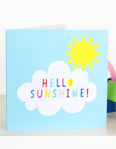 Hello Sunshine Card - Say It Baby