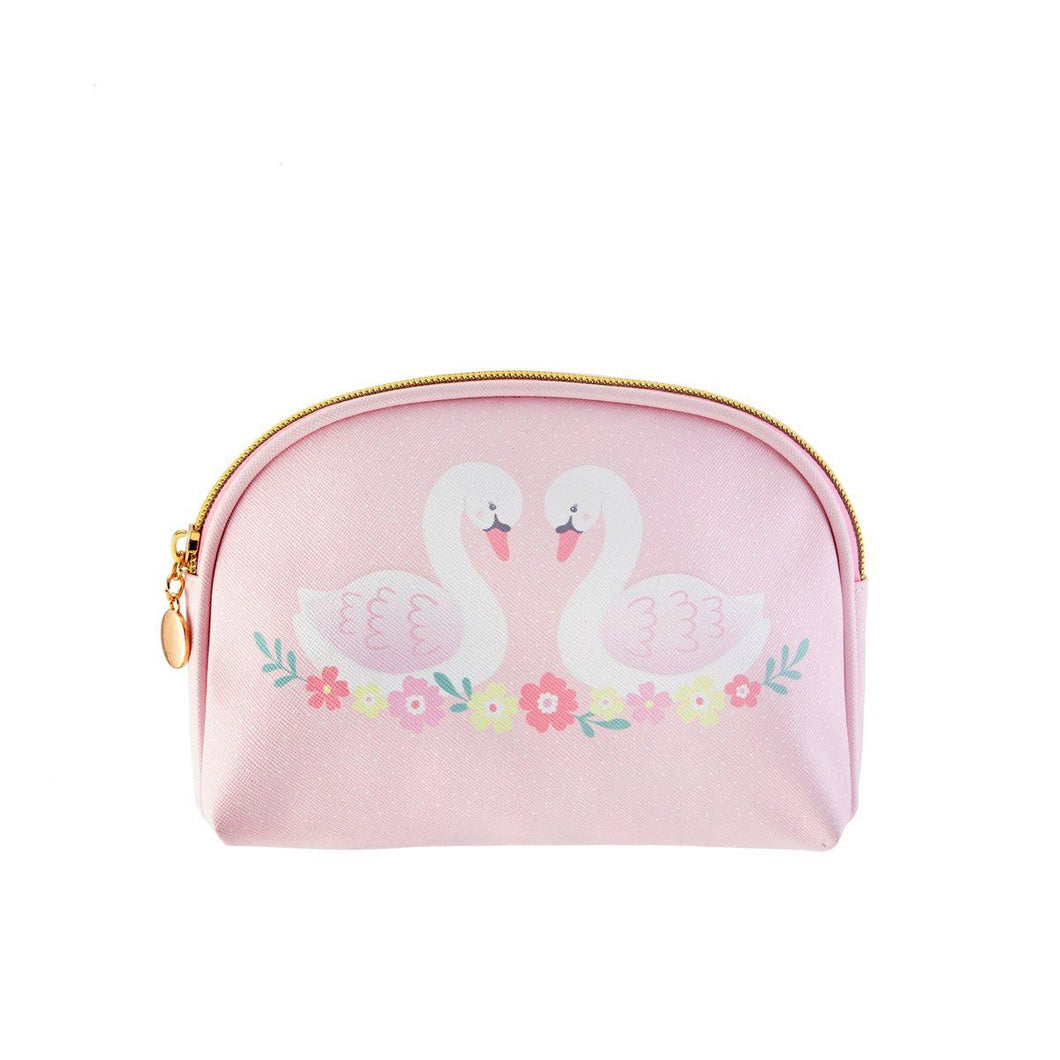 Sass & Belle Freya Swan Cosmetic Bag - Say It Baby