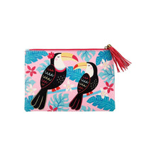 Load image into Gallery viewer, Sass & Belle Tiki Toucan Pouch - Say It Baby