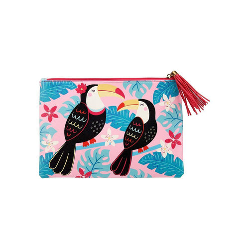 Sass & Belle Tiki Toucan Pouch - Say It Baby