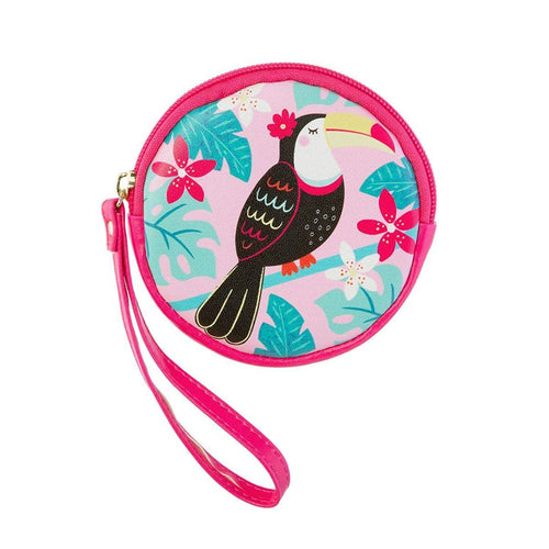 Sass & Belle Tiki Toucan Coin Purse - Say It Baby