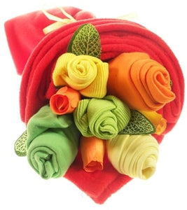Say It Baby - Traditional Baby Brights Clothes Bouquet